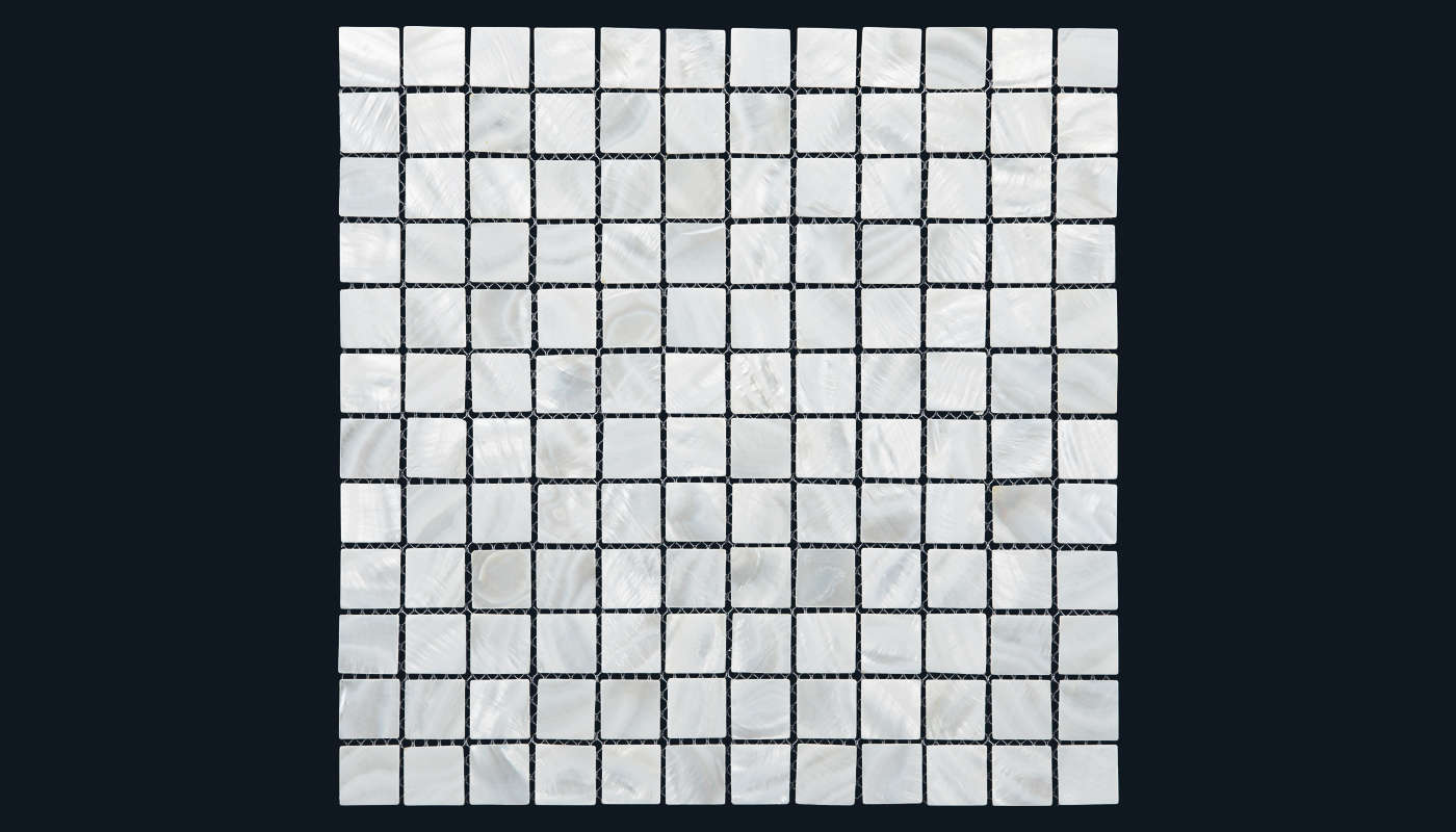 25 x 25 mm White Square